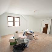 BEFORE: Second floor master bedroom