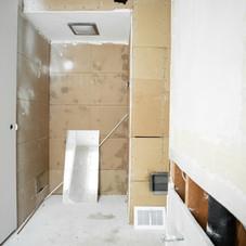 BEFORE: Bathroom nook