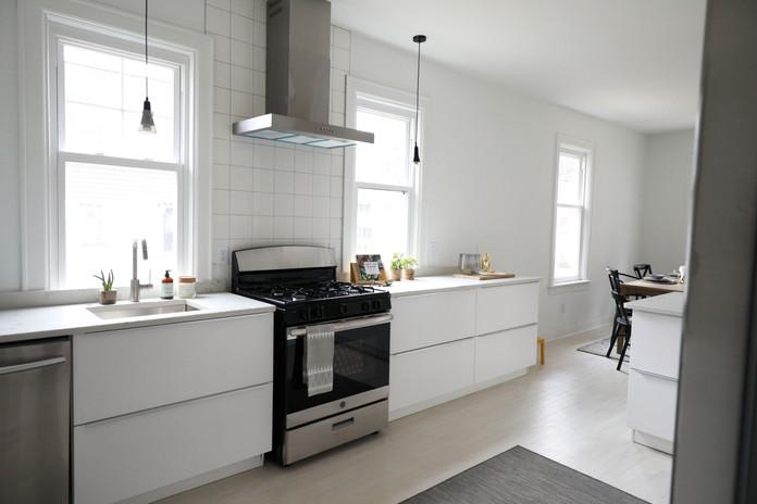 Mood Studio Modern Farmhouse milwaukee wi renovation house flipper contractor kitche
