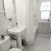 Upstairs Full Bath