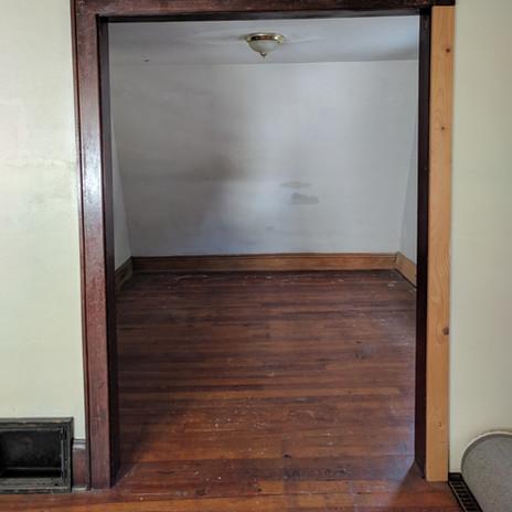 Mood Studio Modern Farmhouse milwaukee wi renovation house flipper contractor closet