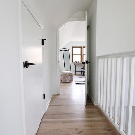 AFTER: Second floor hallway