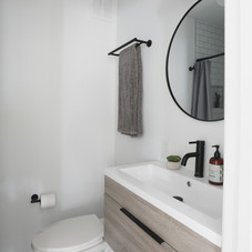 AFTER: First floor full bathroom