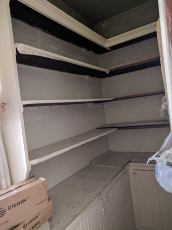 Mood Studio Modern Farmhouse milwaukee wi renovation house flipper contractor pantry
