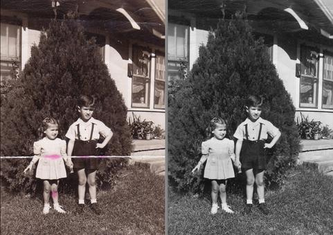 Antique Photo Repair