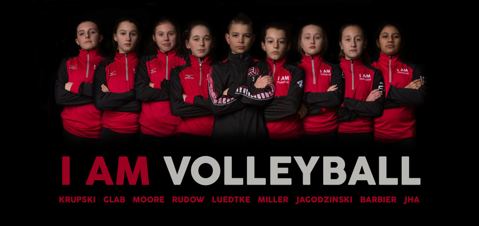 2018 - I AM Volleyball Poster