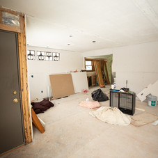 BEFORE: Living room/kitchen