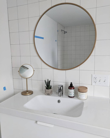 Mood Studio Modern Farmhouse milwaukee wi renovation house flipper contractor bathroom