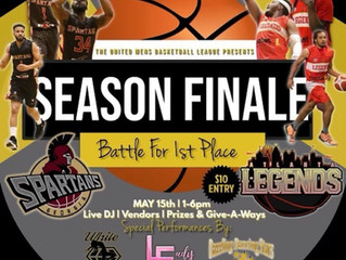 Top seed in the UMBL Playoffs:  the Georgia Spartans prevail 135-130 over the Atlanta Legends