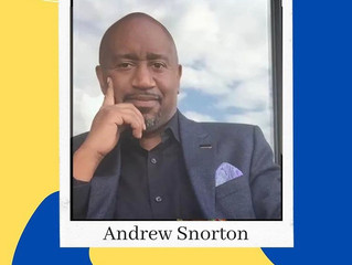 Author Andrew Snorton's May:  and yes, there's more on the horizon