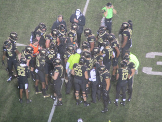 A pivotal game for any fan (theirs):  the Deacs defeat the Seminoles 22-20.