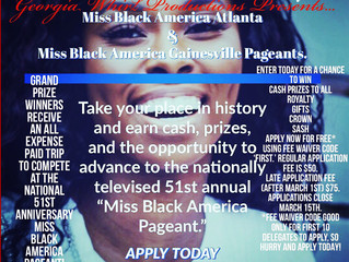 Advocacy and access to opportunity through pageantry (Miss Black America and more)