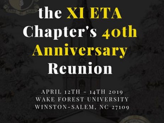 Onward and Upward:  the 40 year anniversary of the Xi Eta Chapter of Alpha Phi Alpha Fraternity, Inc