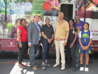 Rep Hank Johnson, DeKalb County Board of Health, and First Class Barber Shop:  Shots at the Shop