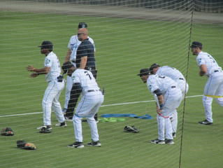 An evening in Asheville:  the IronBirds escape with a 3-2 win over the Tourists in minor league play