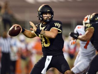 A little different:  the Deacs do battle with the Clemson Tigers