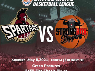 A fresh start:  the Georgia Spartans bounce back with an 83-71 win over the Strong Rox Steppers