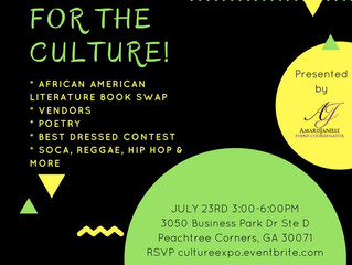 Doing it for the culture, so get cultured!