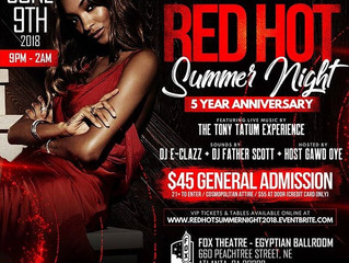 Five years of bringing the heat:  Red Hot Summer Night by the East Point-College Park Alumnae of Del