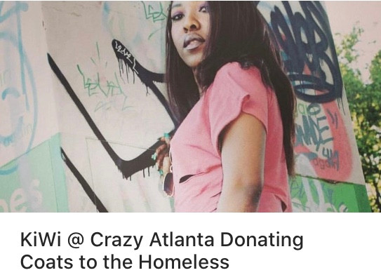 A potentially fruitful evening on November 21st - a performance by KiWi AND a coat donation drive to support the homeless.
