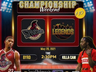 Championship Saturday:  the Georgia Spartans and Atlanta Legends battle for it all one more time
