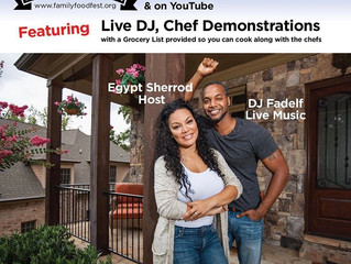 Family Food Fest Atlanta - a virtual way to enjoy Father's Day