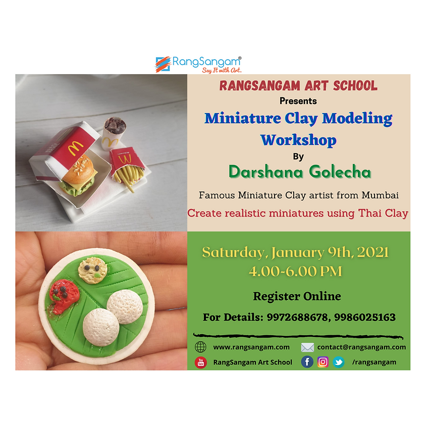 Miniature Clay Modeling Workshop