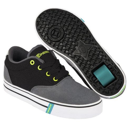 Heelys Launch - Charcoal Black Lime