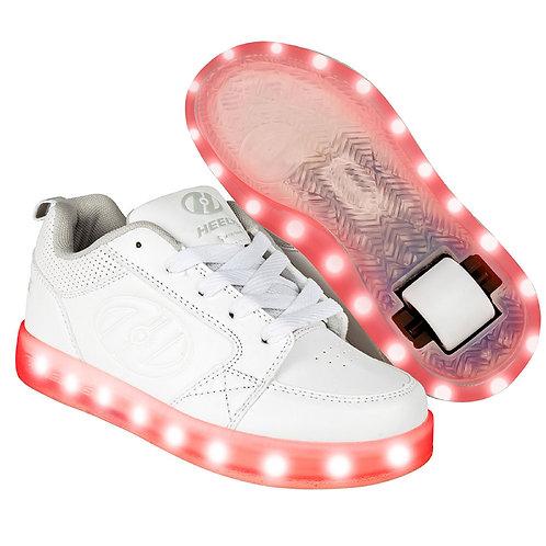 Heelys Light Up Premium 1 Lo - Triple White