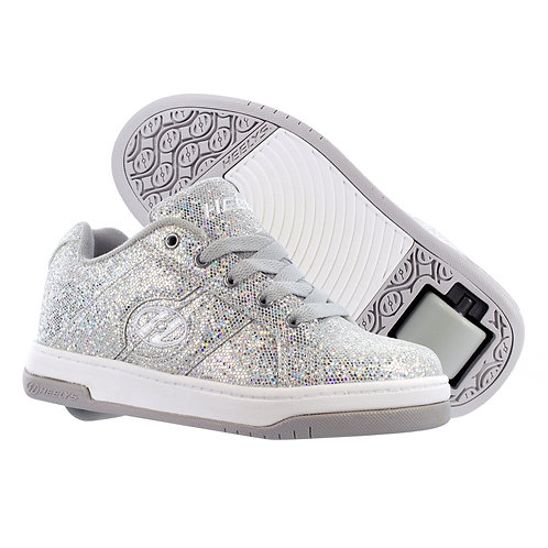 Heelys for Girls - Split Disco Glitter