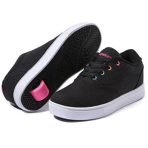 Heelys Launch - Black Rainbow Heelys pink