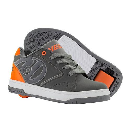 Heelys Propel 2.0  - Charcoal Orange Grey