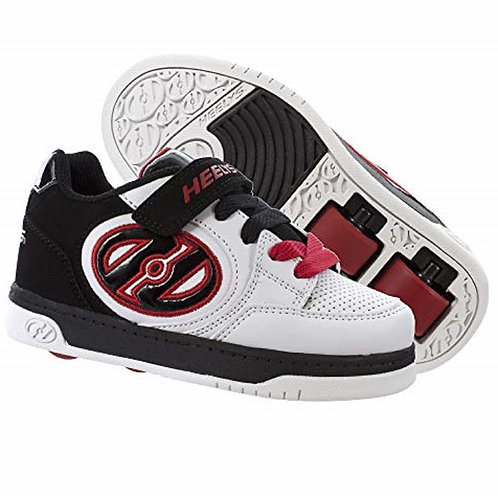 Heelys X2  - White Black Red