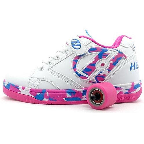 Heelys Propel - White Pink Confetti