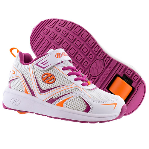 Heelys Rise girls shoes - White Berry Orange