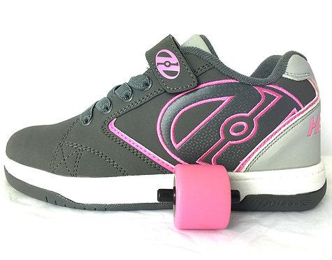 Heelys Propel 2.0 - Charcoal Grey Pink