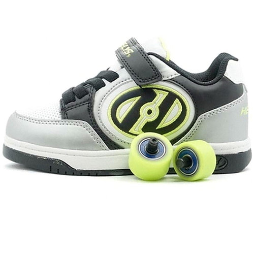 Heelys X2 Plus - Silver Black Lime