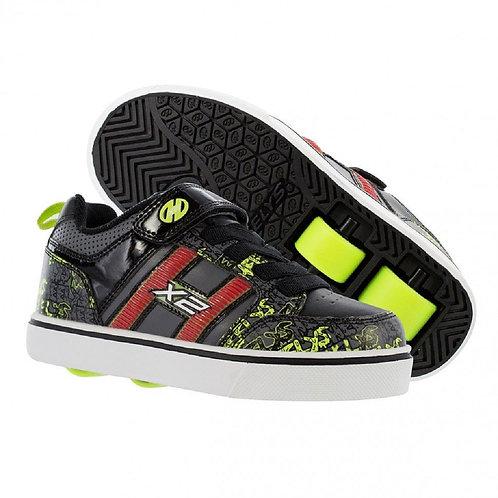 Heelys Bolt Plus X2 Light up - Black Grey Bright Yellow