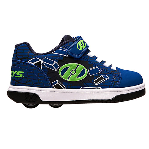 Heelys Dual Up X2 - Blue Green Bricks