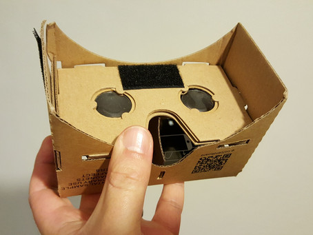 GOOGLE CARDBOARD: VR THAT MAKES OUR CLIENTS HAPPY