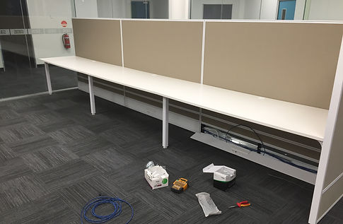 Office workstations Data and Power