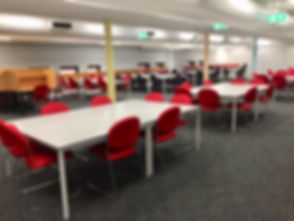 Lighting, Power and Data in a Library fit out
