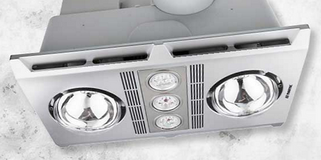 Bathroom Heaters 3 in 1