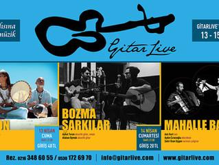 GitarLive'da bu hafta: 13-15 Nisan