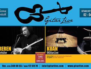 GitarLive'da bu hafta: 02-04 Mart