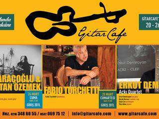 GitarCafe'de bu haftanın programı: 20-26 Mart