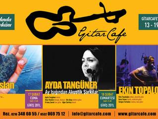 GitarCafe'de bu haftanın programı: 13-19 Şubat