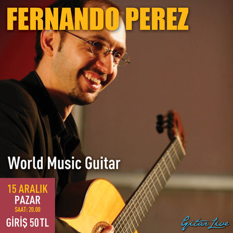 Fernando Perez'in gitarından Dünya Müziği