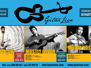 GitarLive'da bu hafta: 30 Mart - 01 Nisan