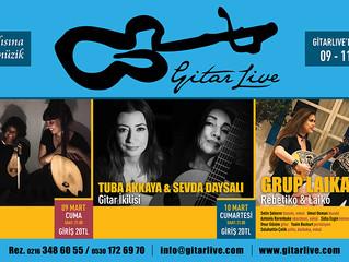GitarLive'da bu hafta: 09-11 Mart